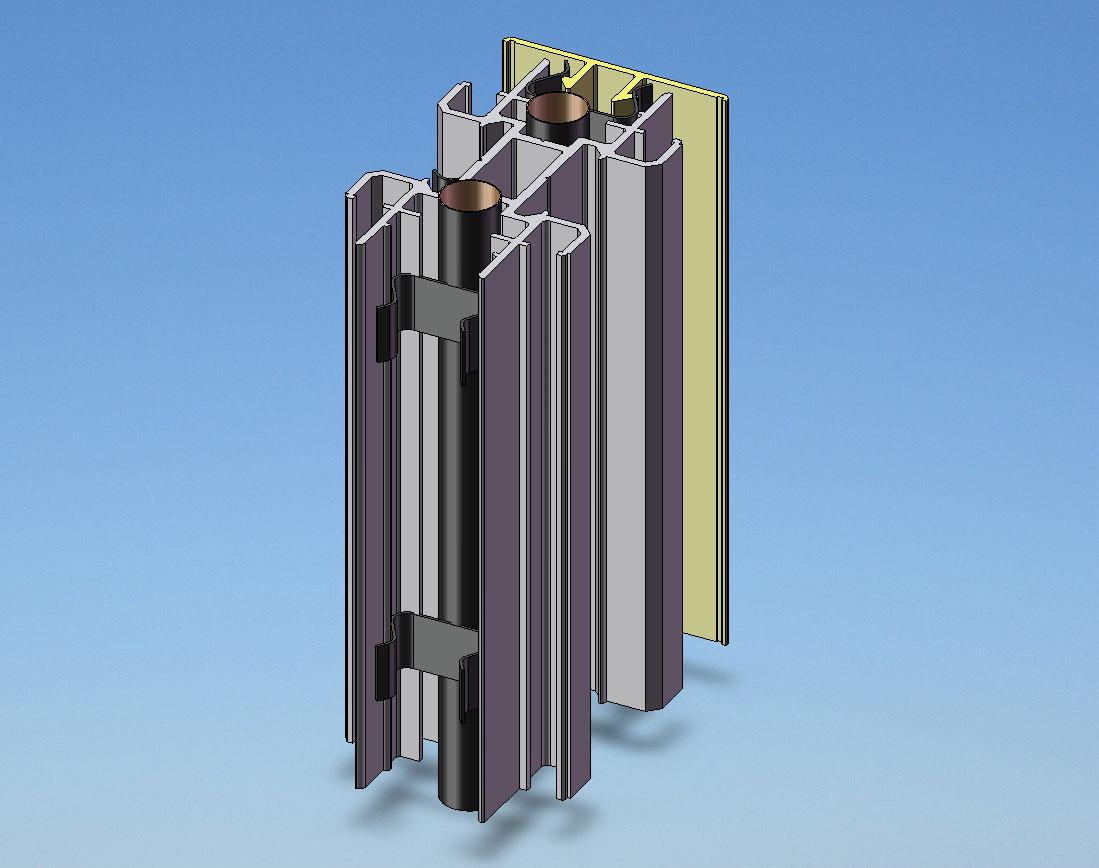Exemple Du0027assemblage Du Poteau Avec Câbles